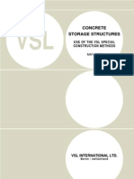 VSL Technical Report - PT Concrete Storage Structures