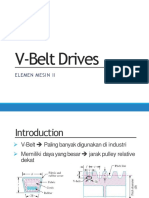 6 v Belt Drives Dikonversi