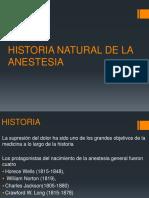 Historia Natural de La Anestesia t