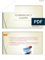 Tolerancias y Ajustes