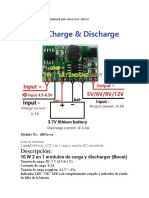 DD04CVSA  MODULE  UPS CHARGER  PIN SCHEMATIC