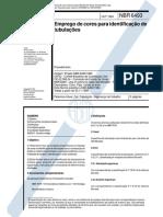 NBR 06493 - 1994 - EMPREGO DE CORES PARA IDENTIFICAÇÃO DE TUBULAÇÕES.pdf
