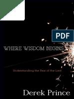 Where Wisdom Begins