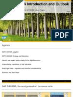 SAP S4HANA Introduction and Outlook