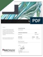 Certificado de Estudios_Macrotec_AutoCAD 2019 2D_Howard Flores