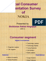 Nokia Survey of Consumers