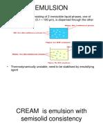 2015 Design Emulsions Creams