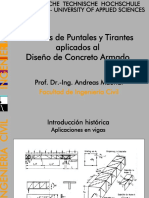 Modelos Puntales y Tirantes UNI Maurial