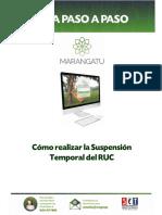 Guías Paso a Paso Nuevo Marangatu - Como realizar la Suspensión Temporal del RUC.pdf