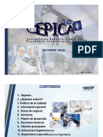 Presentacion Cepica 2018-Español