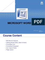 Computer Basics and Word Processing Workbook