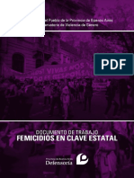 Documento de Trabajo Femicidios en Clave Estatal