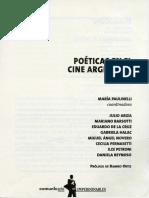 Poéticas Del Cine Argentino - Esteban Sapir