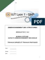 IUT Lyon Dimensionnement structures