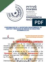 A- Estructura Secretaría Departamental