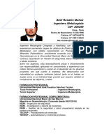 Abel Rosales i CV