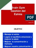 Gestión Del Estrés Con Brain Gym