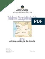 Trabalho de História - Angola e Moçambique em 1960