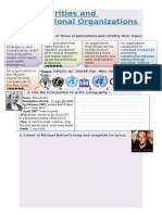 Charities & International Organizations