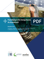 Franchising Energy Sector