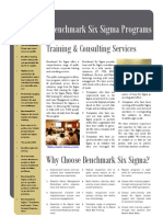 Benchmark Six Sigma Consulting Brochure
