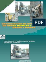 Capacitación de Operadores de Grúas Móviles y Puentes Grúas Y Rigger