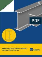 Folder Perfis Estruturais - Informações Técnicas