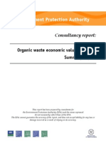 Organic Waste Consultancy Report