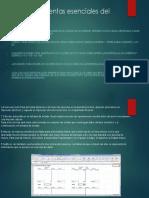 Las Herramientas Esenciales Del Excel