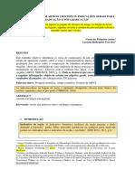 FERREIRA. Luciana. Composição de Artigo Científico. 2018.Para Alunos..