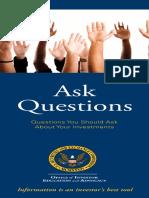 Sec Questions Investors Should Ask