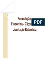 Formulacao - Cap Lib Retardada-Fluoxetina