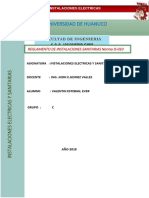 Monografia de Instalaciones Sanitarias 2