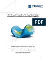 Ecologie Et Transport Final