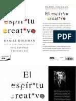 178-El Espíritu Creativo - Daniel Goleman.pdf