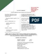 Brief Amicus Curiae of NFIB Small Business Legal Center, Josue v. Coca-Cola Bottling Co. of Los Angeles, No. SCWC-14-1135 (Haw. Mar. 7, 2019)