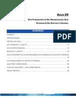 Aula 00 - Pdf lei orgânica do distrito federal
