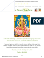 17th Vedic Astrology Conference_ Jyotish and Yogic Guidance in a Time of Stress and Crisis_ Fortitude and Transcendence