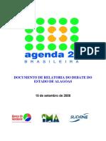Agenda 21 Alagoas Relatoria Debates