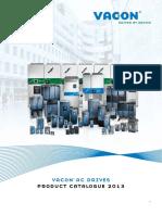 Vacon - Catalogo 2013