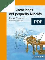 Las vacaciones del pequeno Nicolas       - Rene Goscinny.pdf