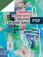 Ciudadanía arquitectónica y estructura del poder público
