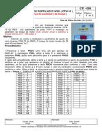 Cti - 095 Inversor de Porta Novo Weg ( Cfw-10 )