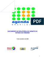 Agenda 21 Paraiba Relatoria Debates