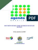 Agenda 21 Piaui Relatoria Debates
