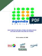 Agenda 21 Rio Grande Do Norte Relatoria Debates