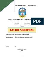 MONOGRAFÍA - LAUDO ARBITRAL.docx