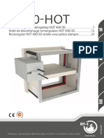 Smoke Control Dumpers _ VU90-HOT Product Brochure NL-FR-EnG