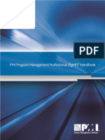Program Management Professional Handbook