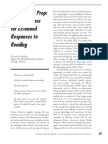 Beyond Test Prep-Making a Case for Extended Responses for Reading